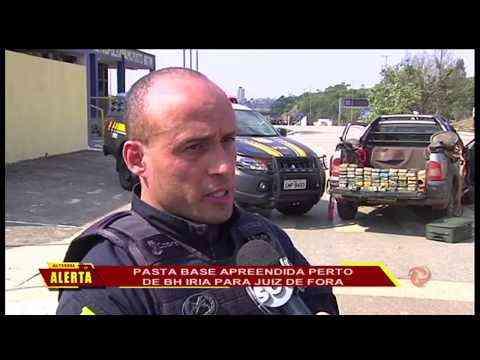 ZONA DA MATA Juatuba: Pasta base apreendida perto de BH iria para JF - TV Alterosa
